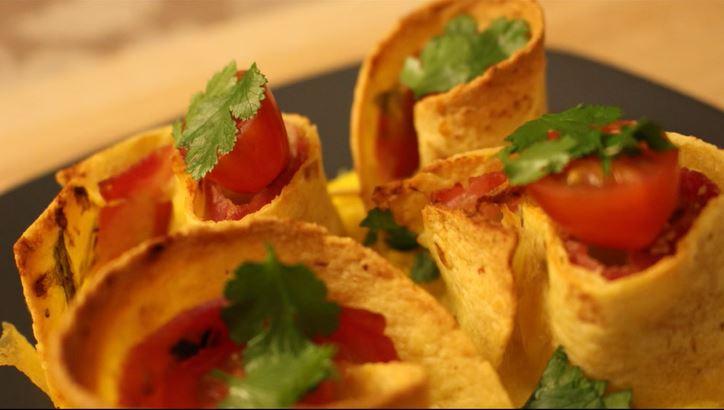 Recette mexicaine de rollitos à la française