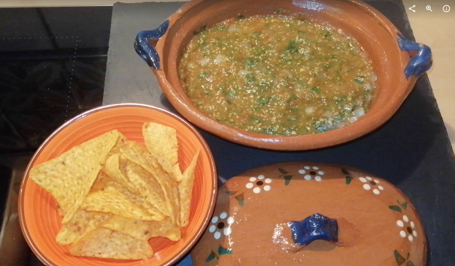 Sauce verte – Salsa verde